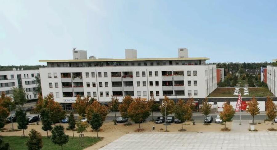 Difko har fået solgt denne bolig- og erhvervsejendom i Berlin til en gunstig pris. Foto: Difko