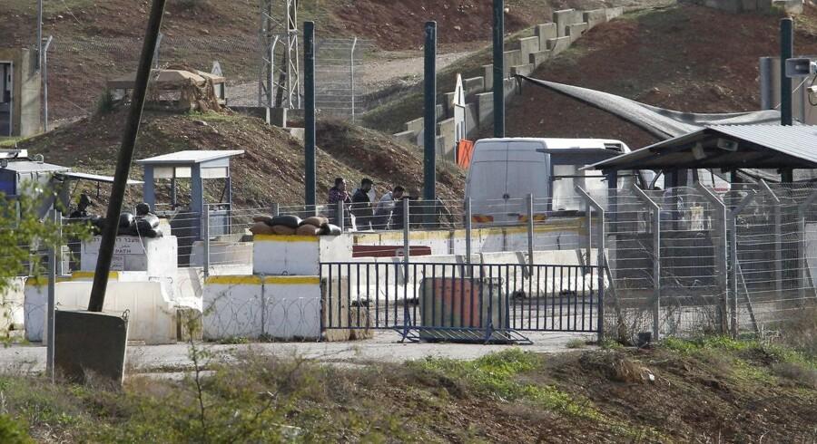Israel oplyser, at de har dræbt to palæstinensere.
