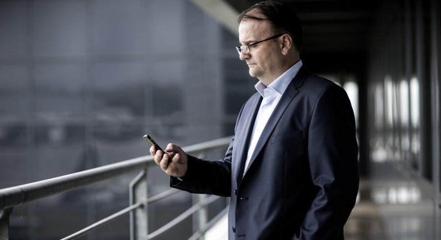 Stéphane Simonetta får til opgave at sætte fart på logistikken hos Grundfos og forventer at kunne trække på sine erfaringer fra bilindustrien, hvor alting går meget hurtigere end i andre brancher. Foto: Mikkel Berg Pedersen