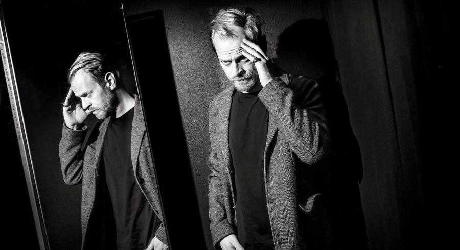 Carsten Bjørnlund, skuespiller, i øjeblikket aktuel i DRs hitserie »Arvingerne« og i stykket »Koks i kulissen« i Skuespilhuset.