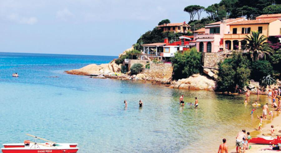 En lun middelhavsstemning præger Elba. Her er tempoet nede og de gastronomiske udfoldelser i top.