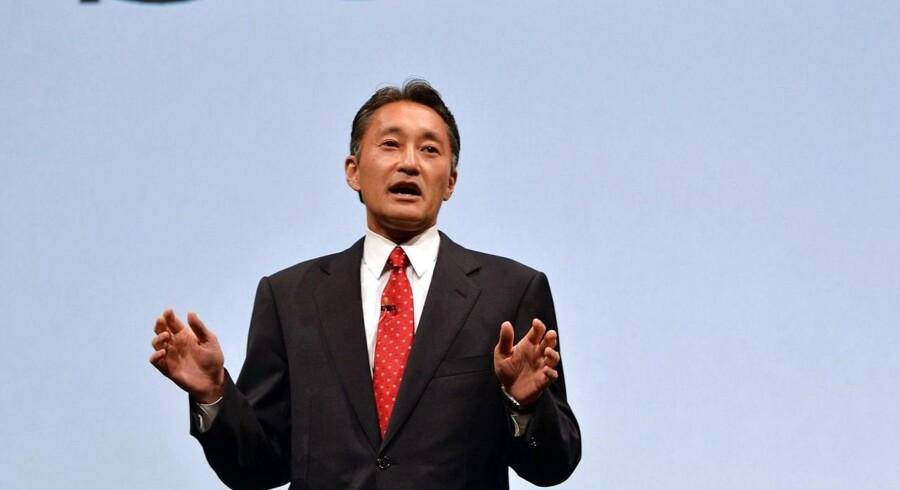 Sony's topchef Kazuo Hirai afviser afviser opsplitning af virksomheden.