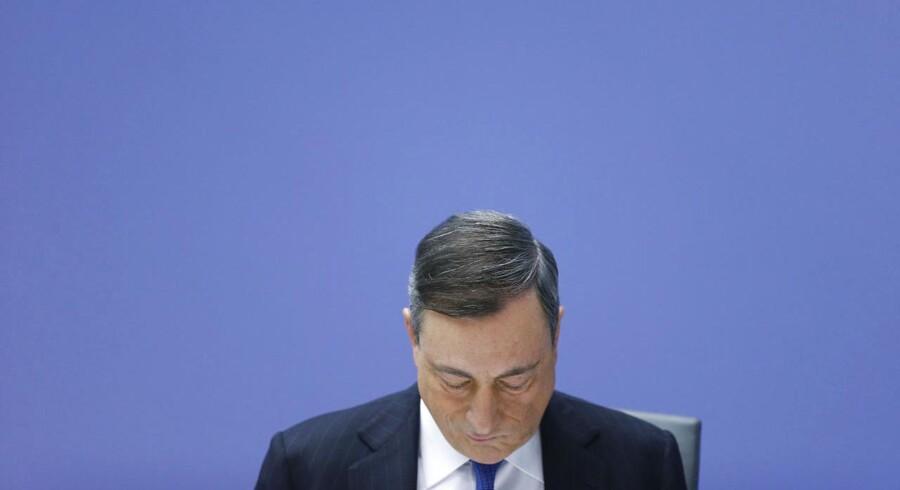 Præsident for Den Europæiske Centralbank, Mario Draghi.