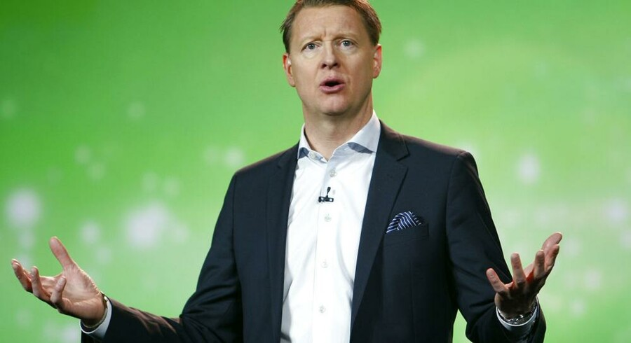 Ericsson-koncernens topchef, Hans Vestberg, redder regnskabet i land gennem salget af halvparten i Sony Ericsson. Arkivfoto: Steve Marcus, Reuters/Scanpix