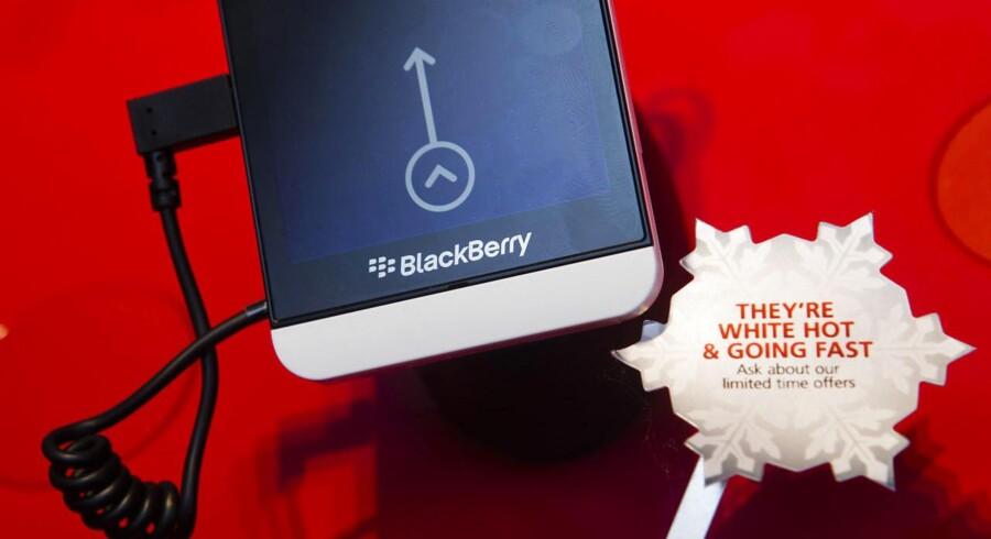 Blackberry z10 blev lanceret sidste uge - og den er ikke helt dum, for den og dens efterfølgere vil sælge i op mod 20 mio. eksemplarer i år, spår ABI Research