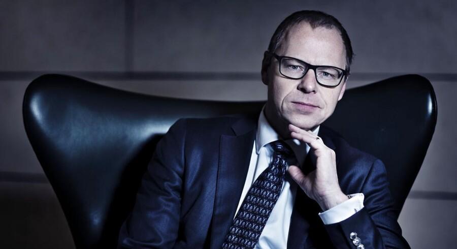 Nykredits topchef Michael Rasmussen. (Foto: Thomas Lekfeldt/Scanpix 2013)