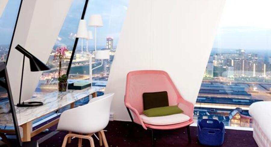 20 ud af Bella Sky hotellets i alt 812 værelser er indrettet feminint. Men de må ikke være »kun for kvinder« siger Østre Landsret.
