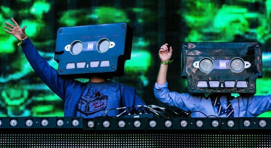Den svenske DJ-duo Cazette udnyttede streamingtjenester og opnåede stor popularitet via nettet. Foto: PR