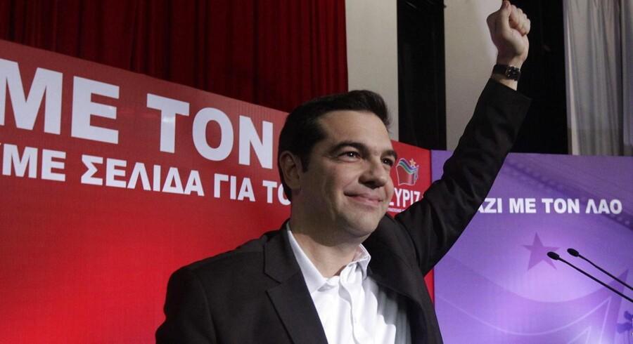 Alexis Tsipras er måske på vej mod magten i Grækenland.