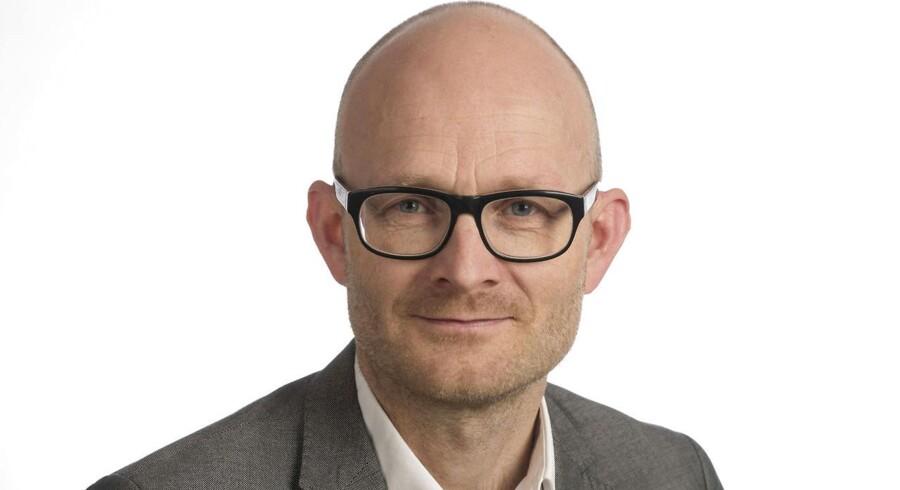 Business journalist Peter Suppli Benson
