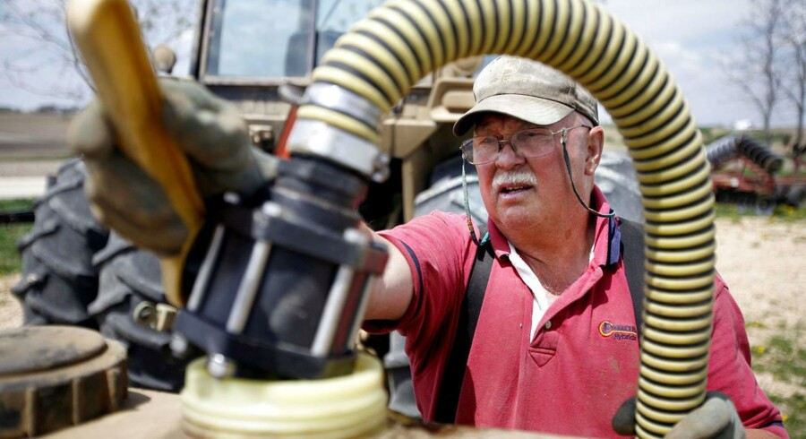 Arkivfoto. Det vil koste arbejdspladser i Iowa, hvis de amerikanske politikere slår bremserne i i forhold til indholdet af bioethanol i benzinen.