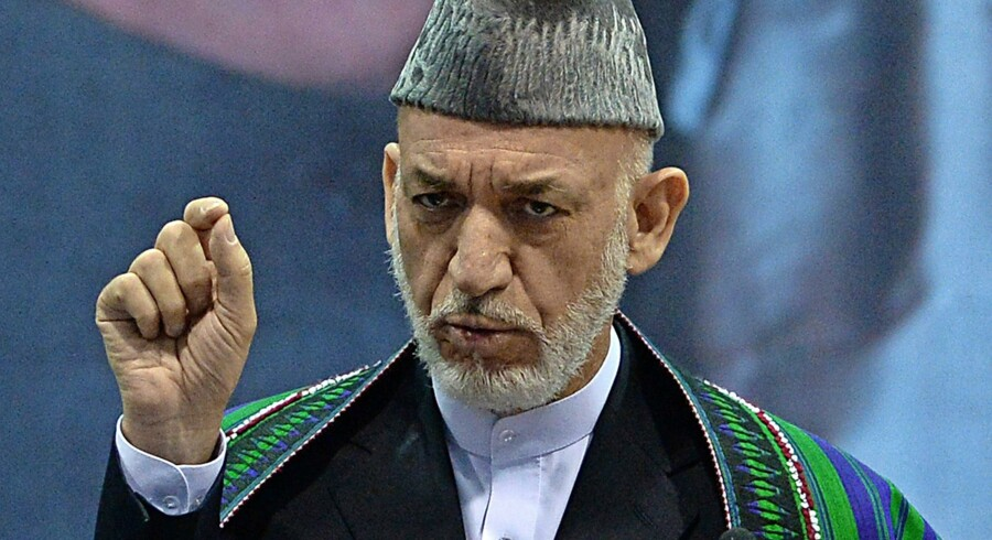 Hamid Karzai, Afghanistans tidligere præsident. Foto: Wakil Kohsar