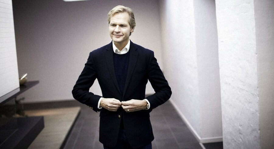 Georg Jensens topchef Ulrik Garde Due.