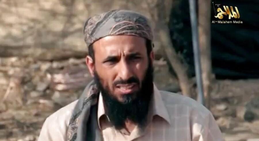 Nasser al-Wuhayshi blev dræbt fredag i det østlige Yemen sammen med to andre al-Qaeda-medlemmer.