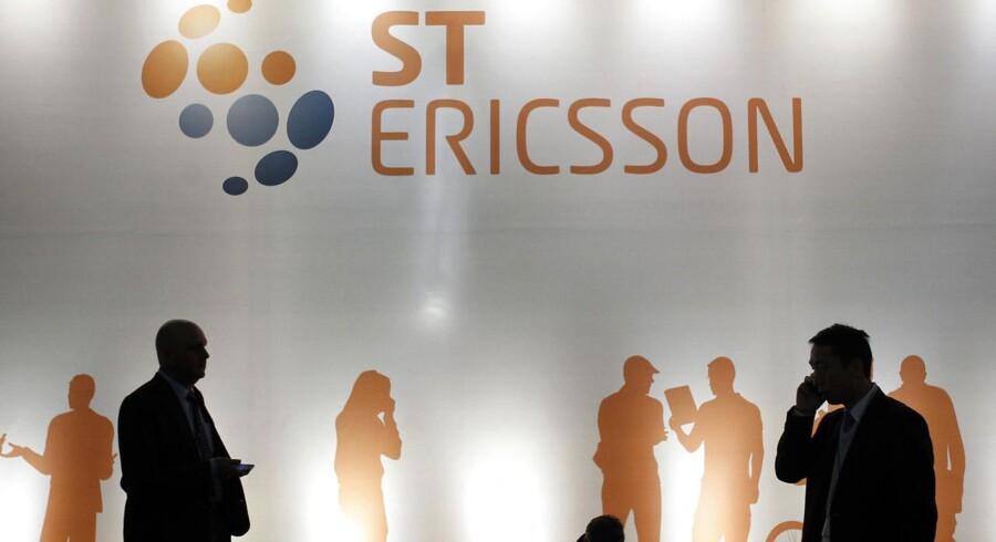 Mobilchipproducenten ST-Ericsson bliver nu splittet op, og dele af det lukket. Arkivfoto: Albert Gea, Reuters/Scanpix