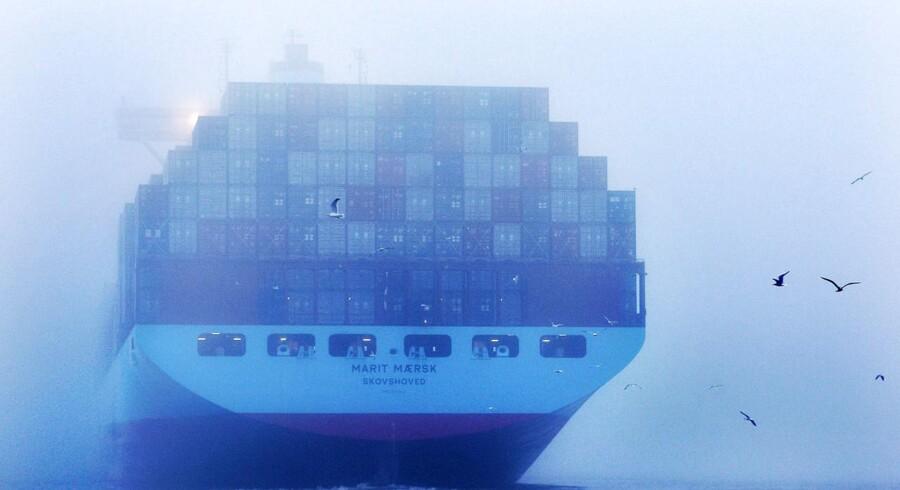 Maersk Lines nyeste skibe er meget energieffektive, men nye EU-regler kan tvinge rederiet til meget store investeringer for at gøre ældre skibe mere miljøvenlige.