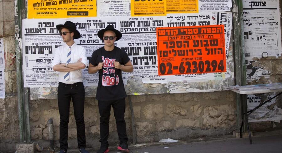 DR3 blev etableret for at tiltrække unge seere. På programfladen har bl.a. været »Monte Carlo elsker jøderne«, hvor P3-værterne Peter Falktoft og Esben Bjerre lavede reportager om konflikten i Mellemøsten. Foto: René Sascha Johannsen