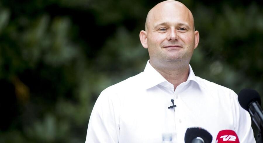 De Konservatives leder, Søren Pape (K).