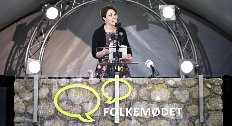 Borgmester på Bornholm, Winni Grosbøll (S).