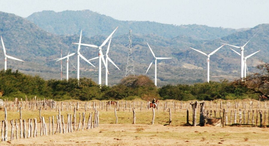 Det spanske energiselskab Iberdrola, der er verdens største ejer af vindparker.