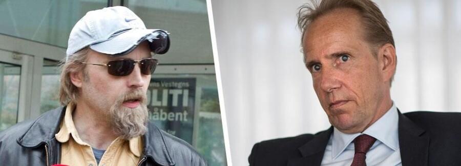 Til venstre: Se og Hør-forfatter Ken B. Rasmussen. Til højre: Allers topchef, nordmanden Pål Thore Krosby.