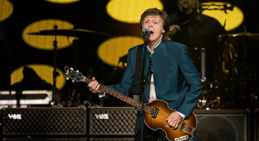 Mandag 27. juni spiller den 74-årige Paul McCartney, som led i sin One on One tour, koncert i Jyske Bank Boxen i Herning. McCartney medbringer sit band gennem mere end 10 år, Paul Wix Wickens på keyboards, Brian Ray på bas/guitar, Rusty Anderson på guitar og Abe Laboriel Jr. på trommer.