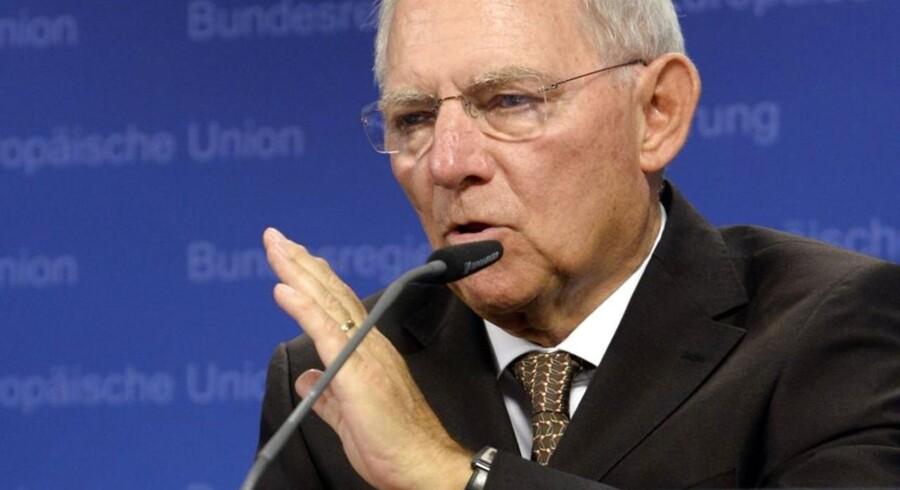 Den tyske finansminister, Wolfgang Schaüble, er klar med en plan, der skal begrænse EU-Kommissionens magtudøvelse.