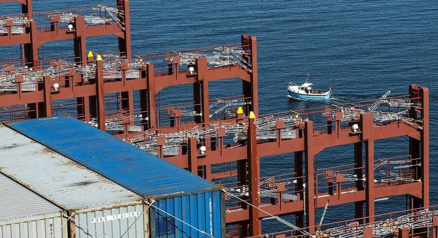 Efter et par uger med solide ratestigninger på de store ruter mellem Asien og Europa måtte containerrederierne i denne uge igen konstatere et stort fald i fragtpriserne.