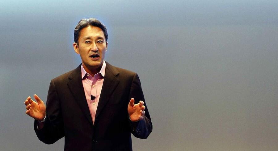 Kazuo Hirai overtog for et år siden ledelsen af den store Sony-koncern, hvor han til da var nummer to. Han er i gang med en omfattende oprydning. Foto: Alberto Estevez, EPA/Scanpix