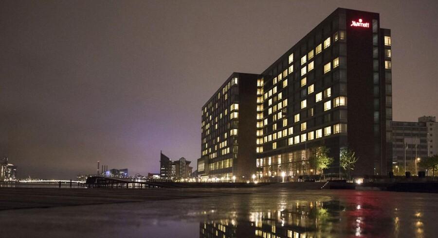 Hotel Marriott på Kalvebod Brygge.