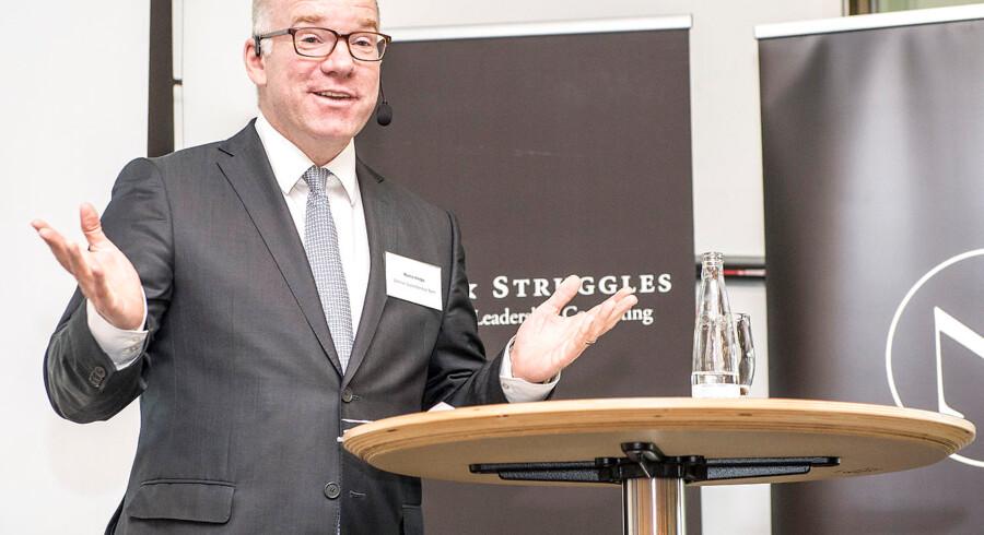Martin Hintze Managing Director i Goldman Sachs og bestyrelses medlem i DONG - talte på DVCA's Topmøde 2014 i Nyborg