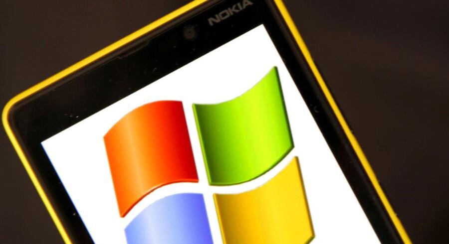 Nokias mobilproduktion kan efter årsskiftet overgå til Microsoft uden problemer, siger EU-Kommissionen. Arkivfoto: Dado Ruvic, Reuters/Scanpix