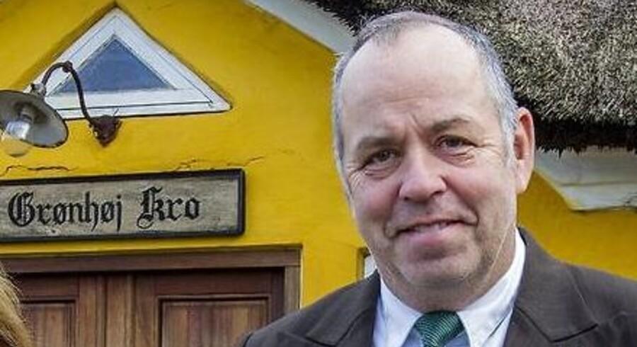 ARKIVFOTO: Gregers Laigaard, ejer af Grønhøj Kro ved Viborg.