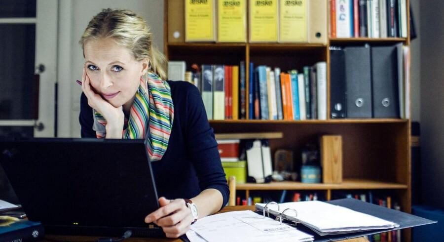 Line Friis Frederiksen er blandt de virksomhedsejere, der har haft mere end almindeligt vanskeligt ved at få adgang til sin online-postkasse.