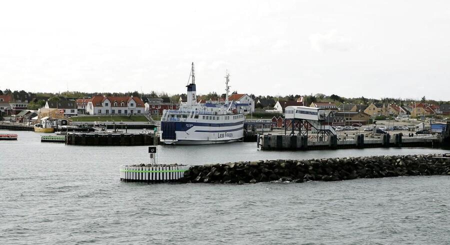 Den danske kommune, hvor befolkningstallet vil falde mest, er Læsø.