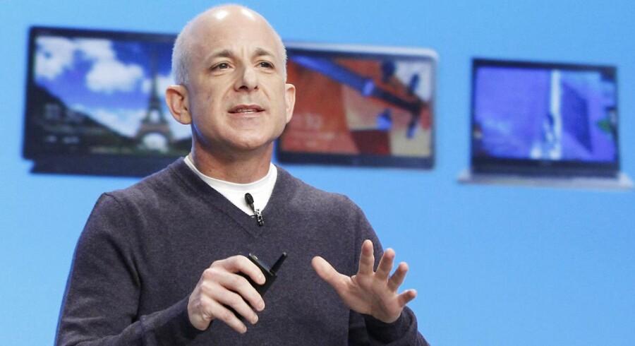 Steven Sinofsky var entuiastisk, da han præsenterede Windows 8 for knap to uger siden. Nu har han forladt Microsoft.
