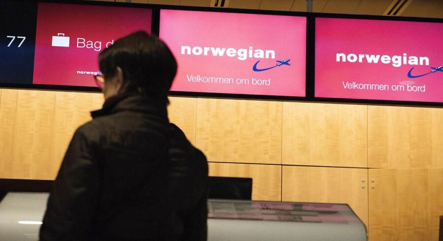 En strejke blandt flyselskabet Norwegians piloter betyder, at selskabet onsdag aflyser en lang række afgange.