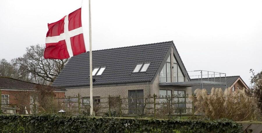 Bo Schmidt Andersen boede i det grå hus i Assens nær Hobro.