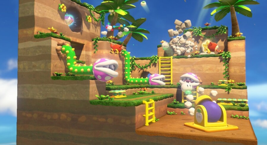 De kreative ideer står i kø i »Captain Toad: Treasure Tracker«.