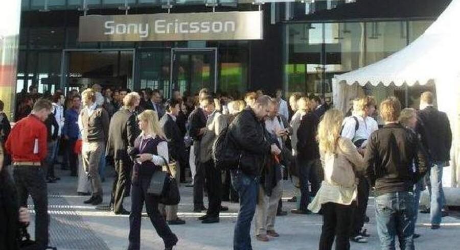 Sony Mobile - tidligere Sony Ericsson - ventes torsdag at annoncere en massefyring. Arkivfoto: Thomas Breinstrup