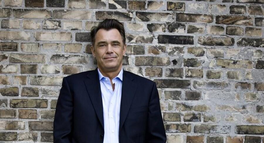 Administrerende direktør hos »3«, Morten Christiansen, har ingen kommentarer til et muligt fornuftsægteskab med TDC om et fælles mobilnet. Foto: »3«