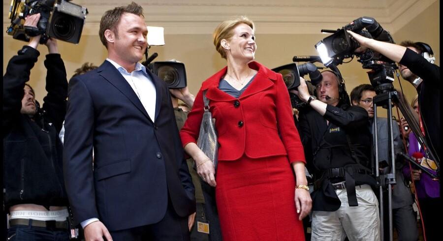 Arkivfoto. Socialdemokraternes valgfest ved EP-valget i 2009, hvor blandt andre Dan Jørgensen blev valgt ind.