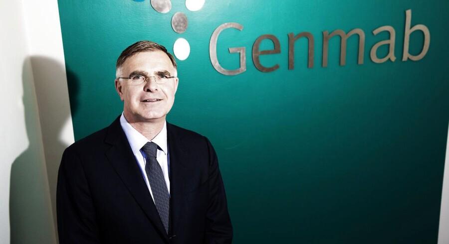 Genmabs topchef Jan van de Winkel kan se tilbage på et solidt kvartal.