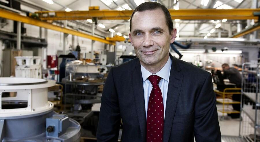 - Hovedparten af vores selskaber havde negativ vækst i andet kvartal, og vi ser et historisk svagt dansk marked, som har skuffet os. siger Solars koncernchef, Anders Wilhjelm-
