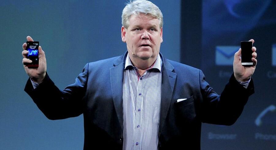 Bert Nordberg, som i dag er bestyrelsesformand for pressede Vestas i Danmark, overlod i maj i år topposten i Sony Mobile (det tidligere Sony Ericsson) og er nu bestyrelsesformand for mobilproducenten. Arkivfoto: Josep Lago, AFP/Scanpix