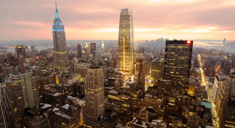 Sådan kommer skyskraberen - måske - til at se ud.