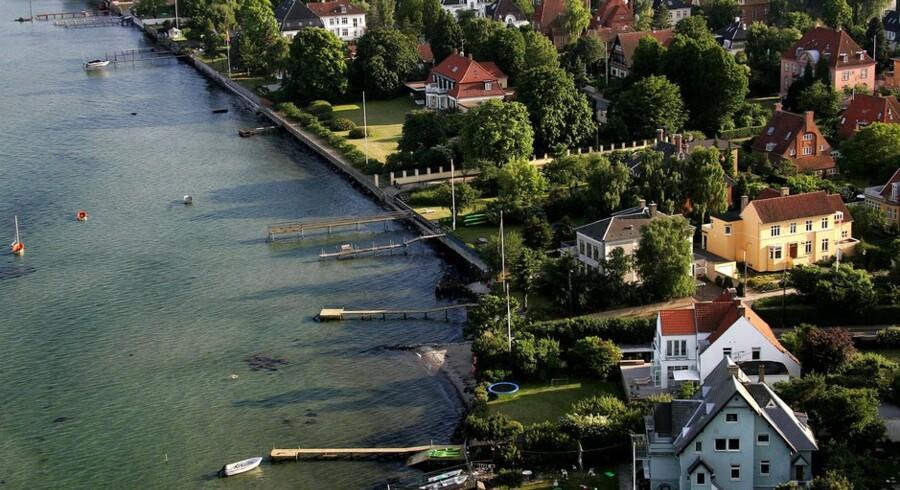 Den femtedel af de danske familier, der har de højeste indkomster efter skat, har også 53 procent af den samlede bruttogæld herhjemme. Foto: Søren Bidstrup