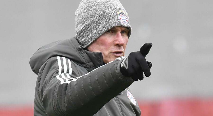 Jupp Heynckes er i gang med sin fjerde periode som cheftræner for Bayern München. Scanpix/Thomas Kienzle