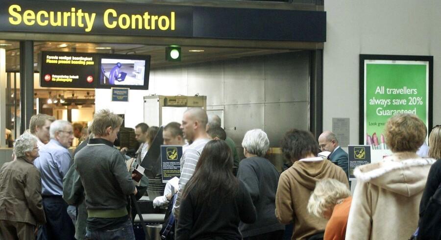 EU-kommissionen ønsker indført en registrering af alle flypassagerer.