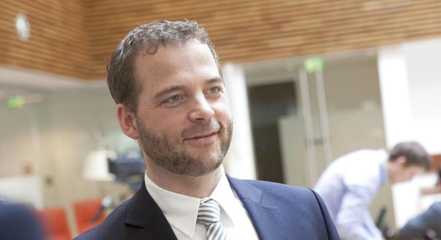 Skatteminister Morten Østergaard.